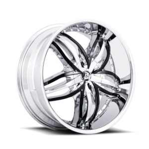 Diablo Wheel Angel Chrome