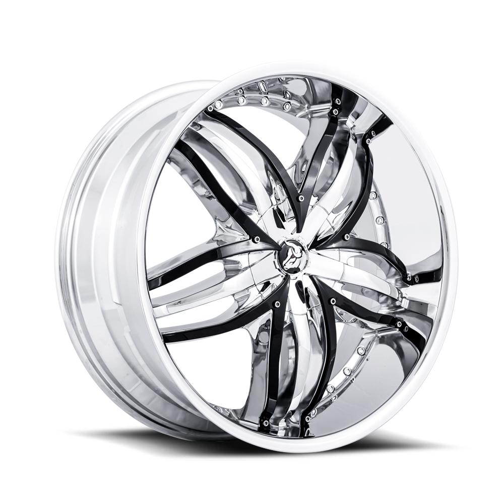 Diablo Wheel Angel Chrome