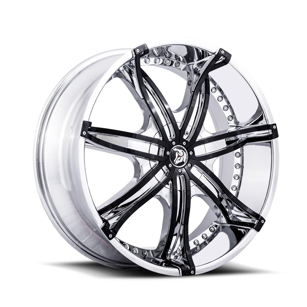 Diablo Wheel DNA Chrome