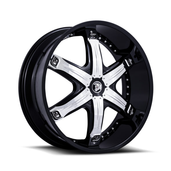 Diablo Wheel Fury Black