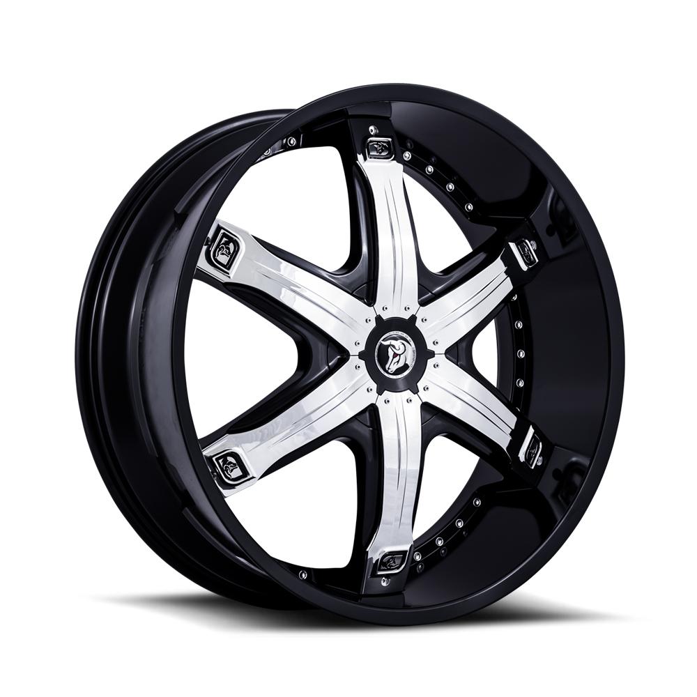 Diablo Wheel Fury Black