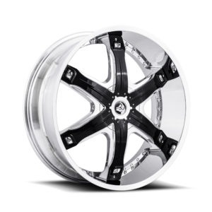 Diablo Wheel Fury Chrome