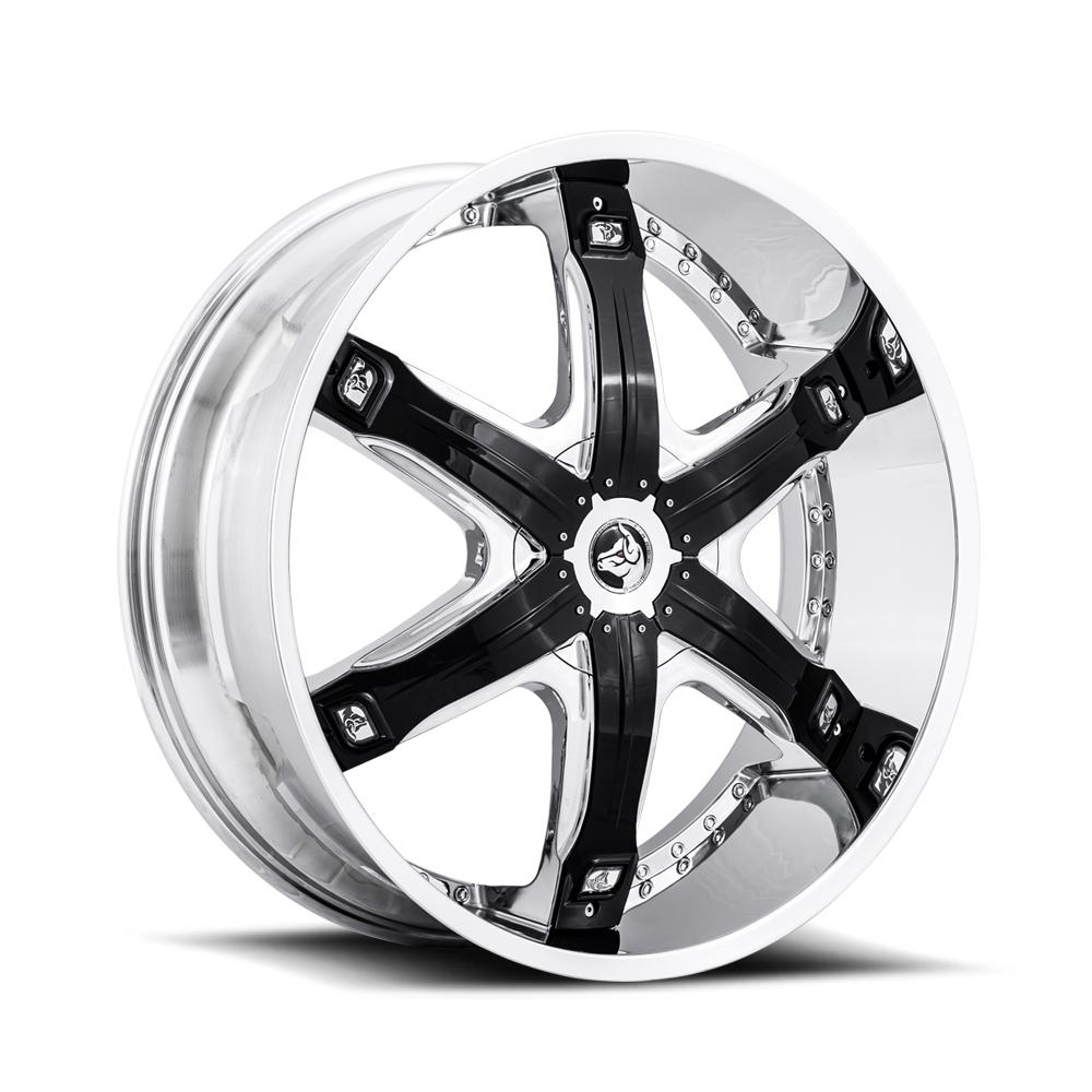 Diablo Wheel Fury Chrome