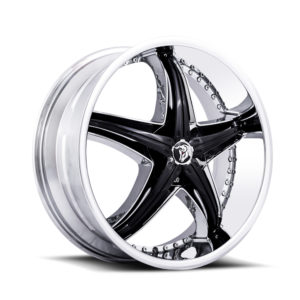 Diablo Wheel ReflectionX Chrome