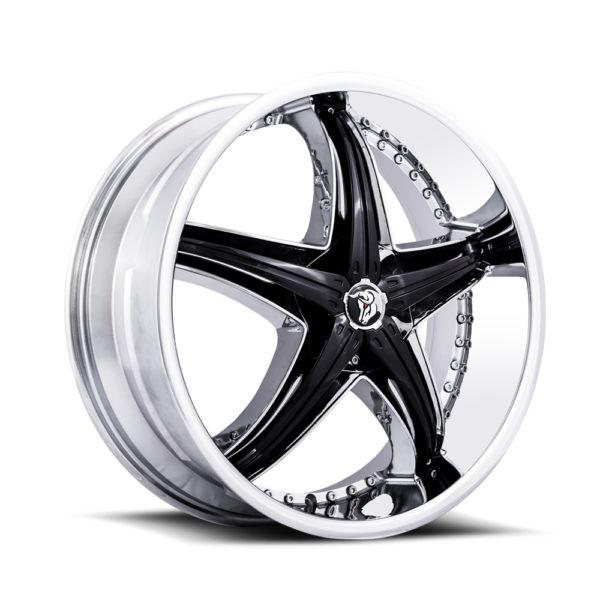 Diablo Wheel ReflectionX Chrome