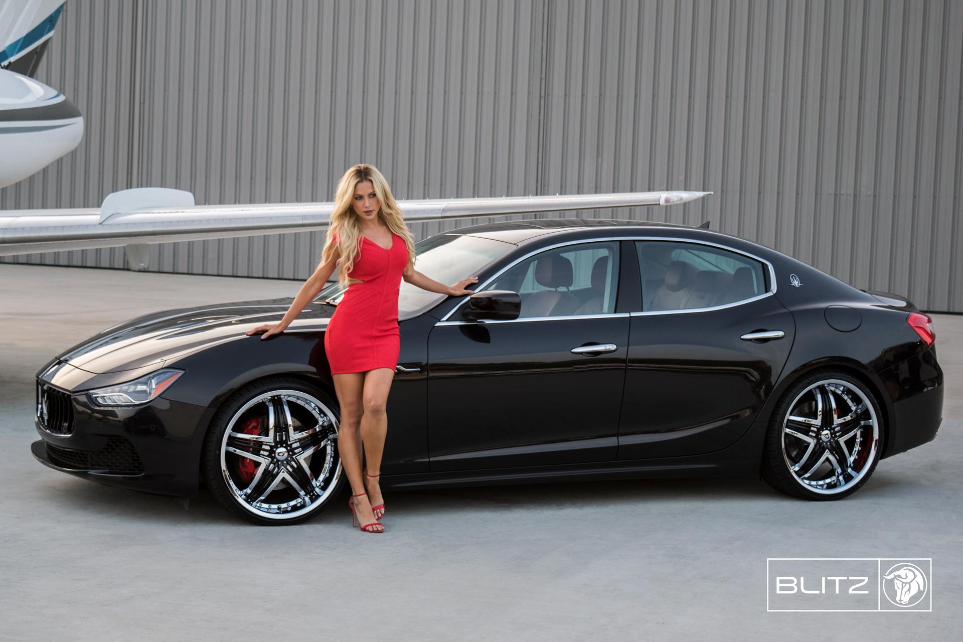 Blitz Diablo Wheels Maserati Ghibli