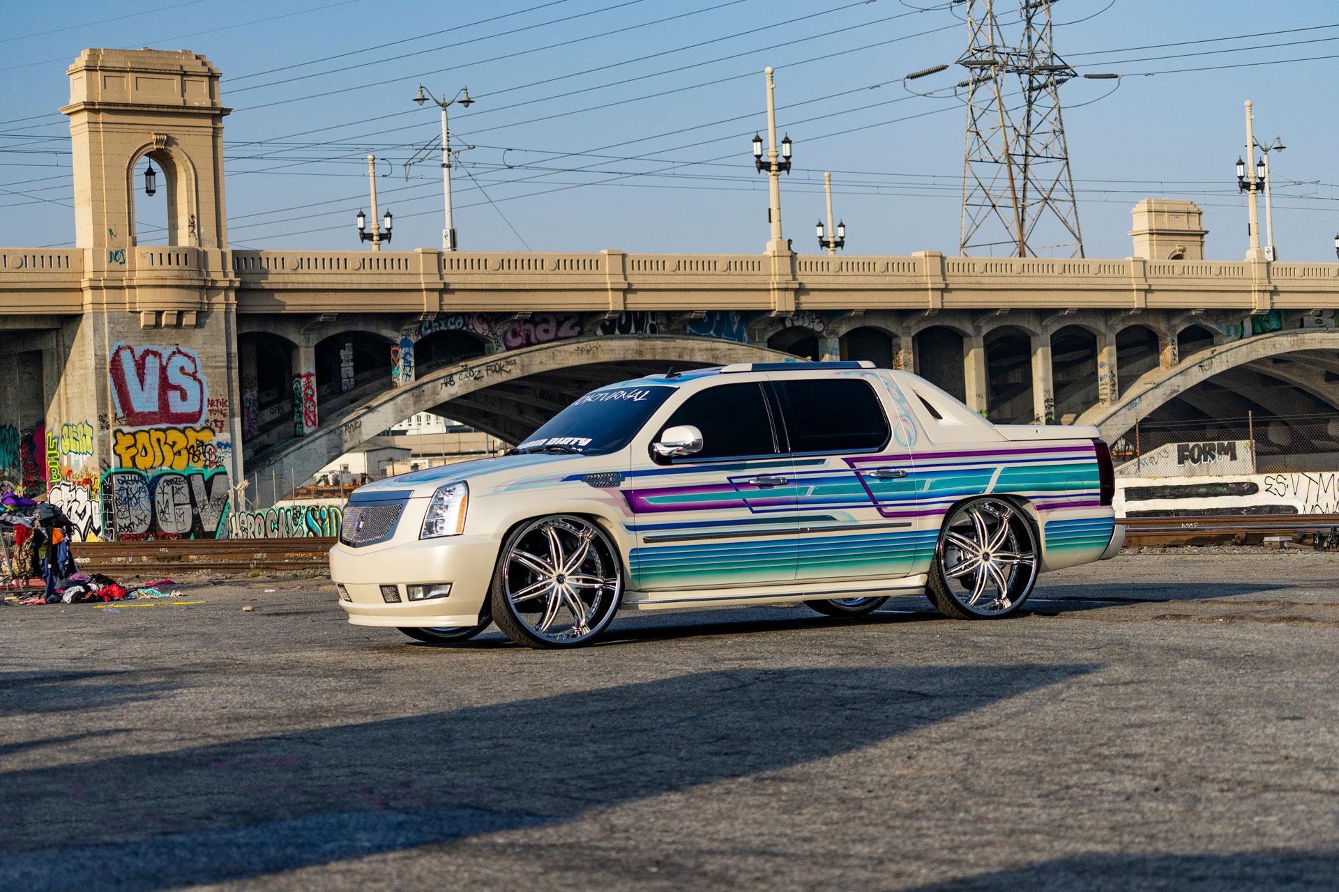 Morpheus Diablo Wheels Cadillac Escalade EXT