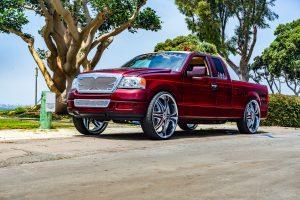 "Elite 30"" Diablo Wheels Ford F150 NOK"