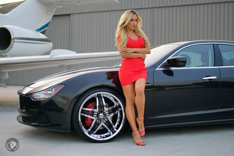 Diablo Blitz Wheel on a Maserati Ghibli - Lina Posada