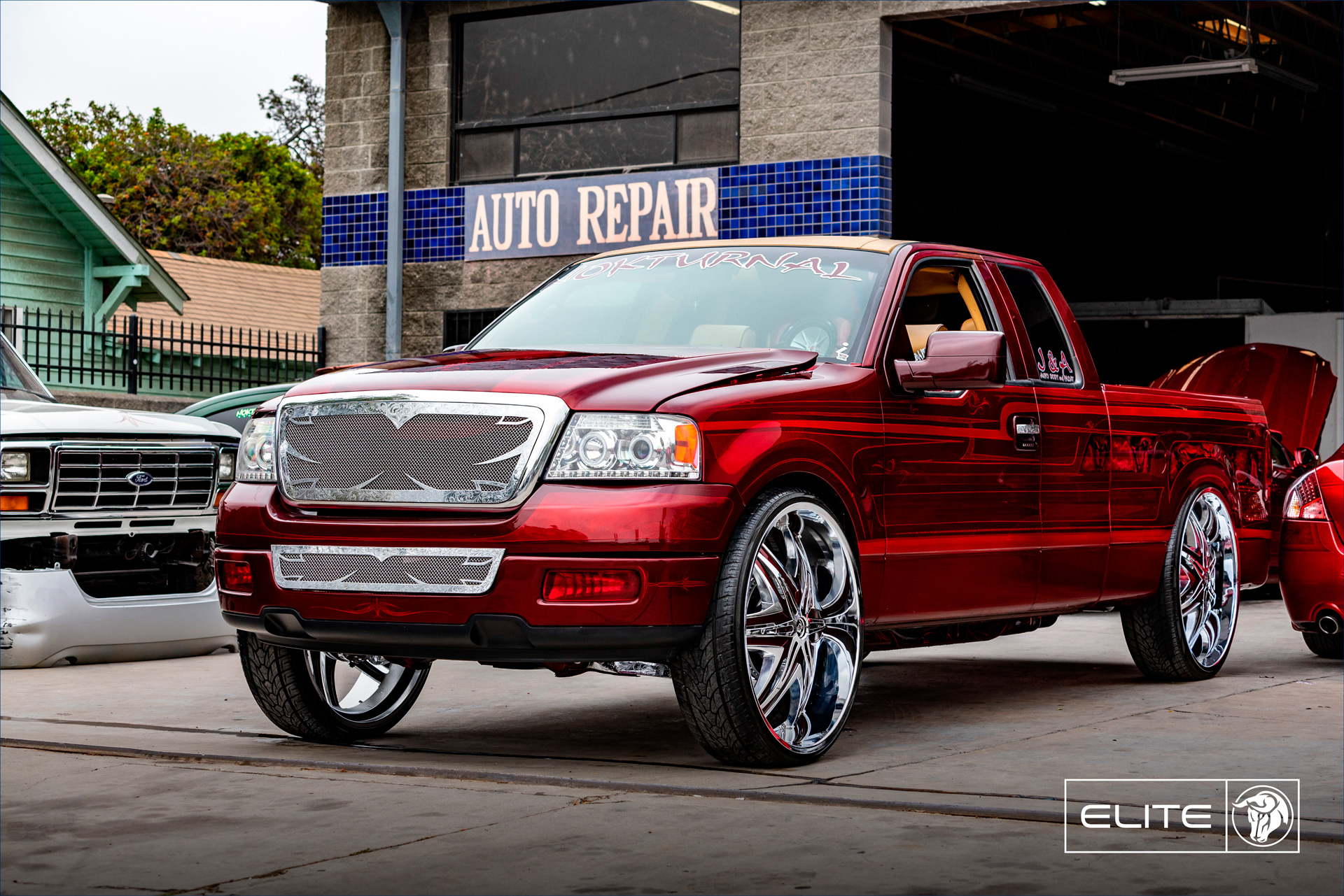 Elite 30″ Diablo Wheels Ford F150 NOK