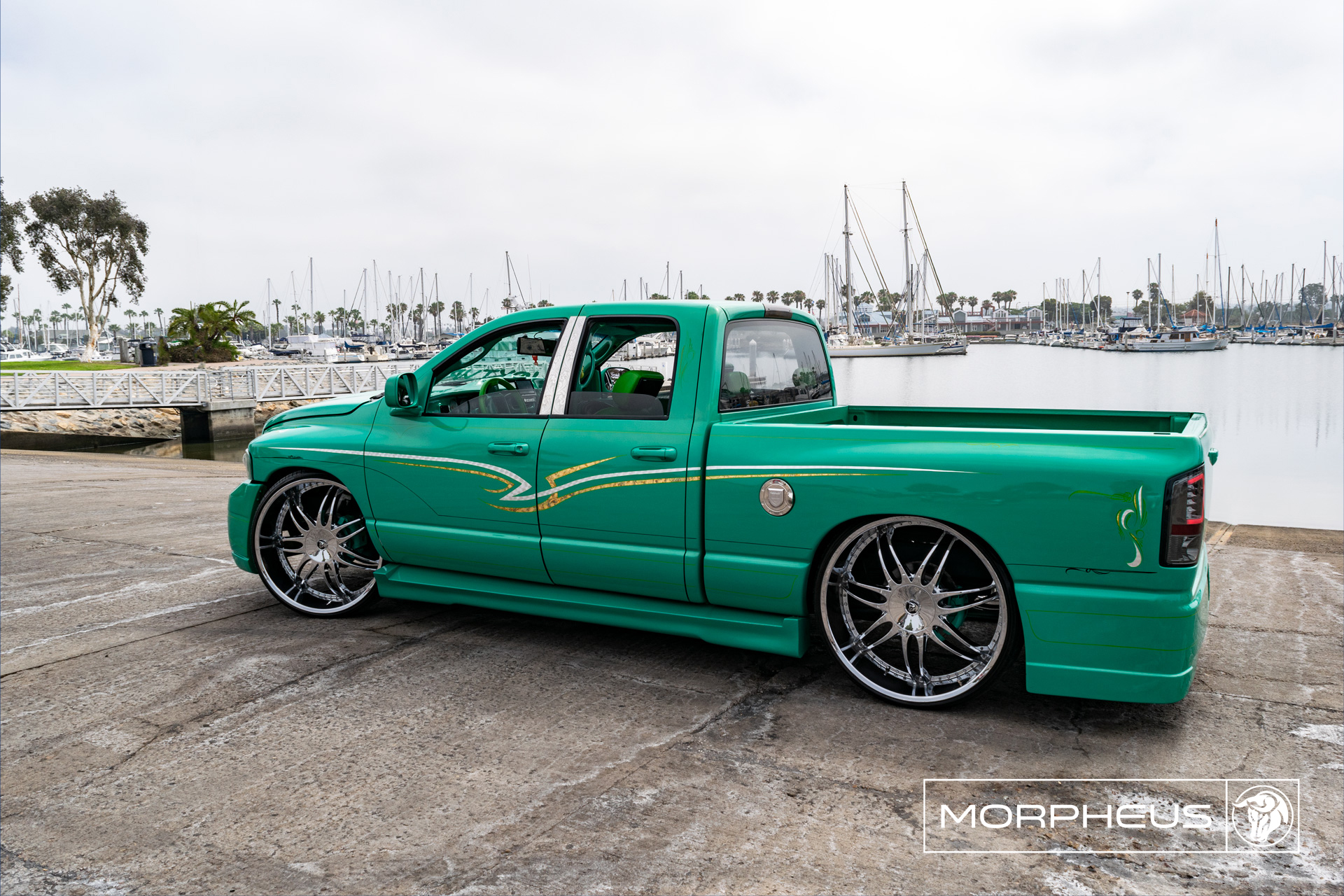 Morpheus Diablo Wheels RAM Truck