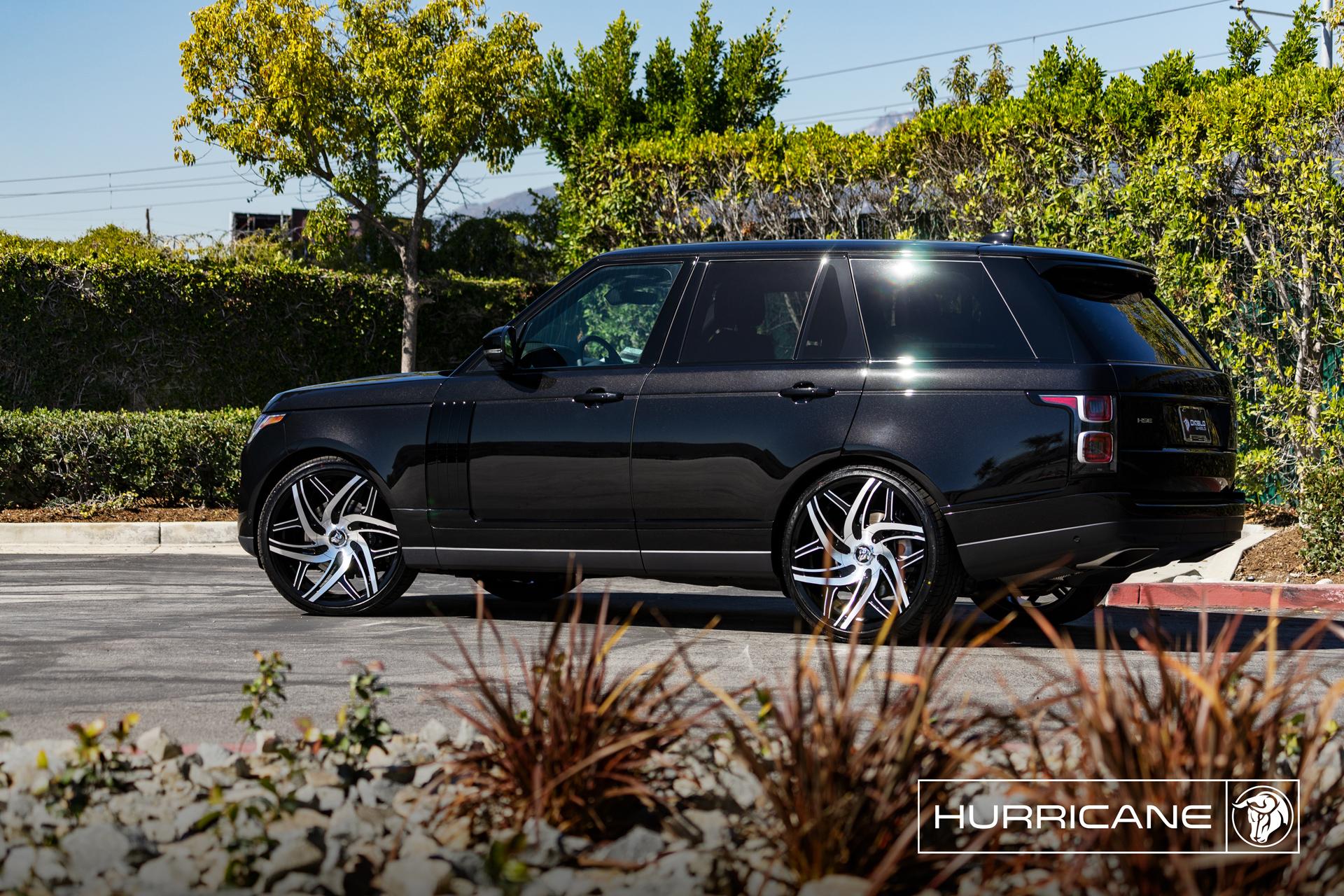 Hurricane Range Rover HSE Diablo Wheels