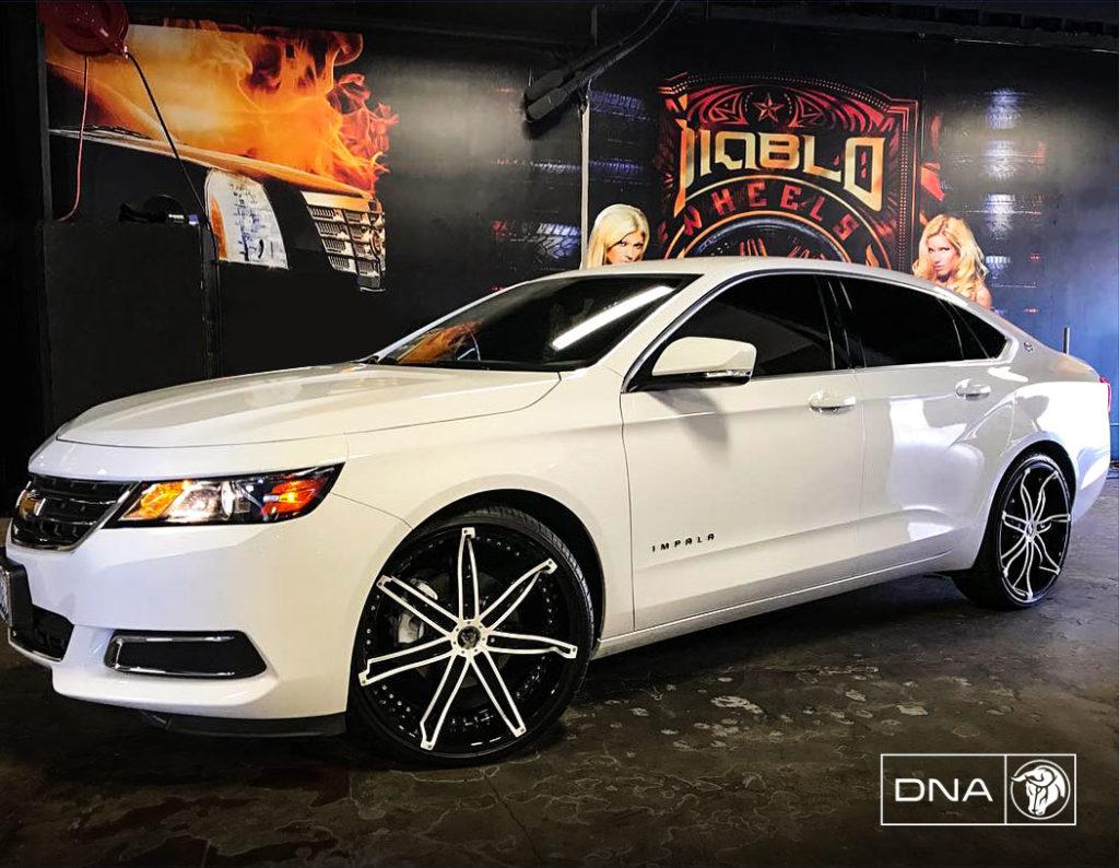 DNA Diablo Wheels Chevrolet Impala