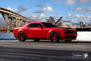 Diablo Wheels Tork Red Dodge Demon