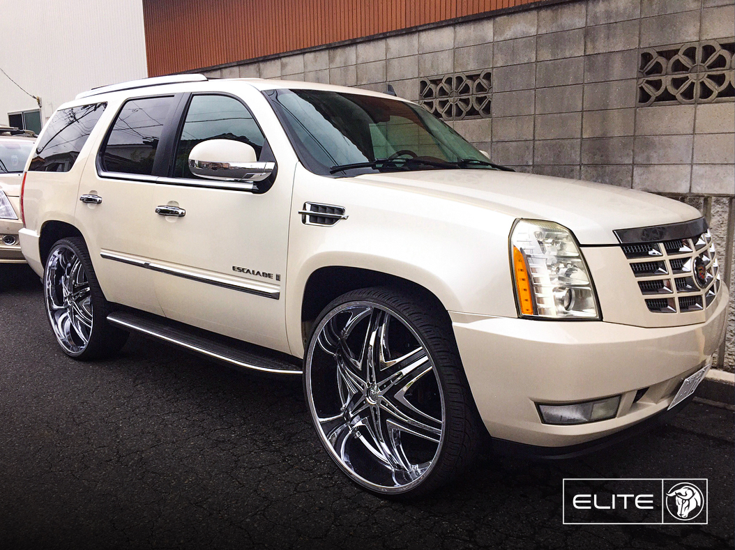 Elite Diablo Wheels Cadillac Escalade
