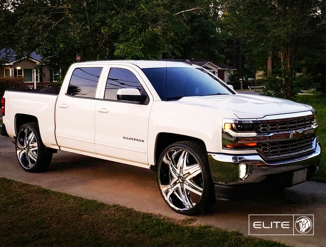 Elite Diablo Wheels Chevrolet Silverado