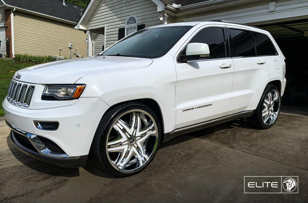 Elite Diablo Wheels Jeep Grand Cherokee White