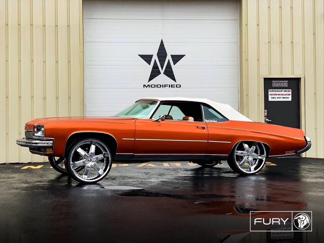 Fury Diablo Wheels Buick Centurion