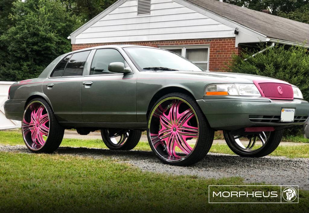 Morpheus Diablo Wheels Mercury Grand Marquis