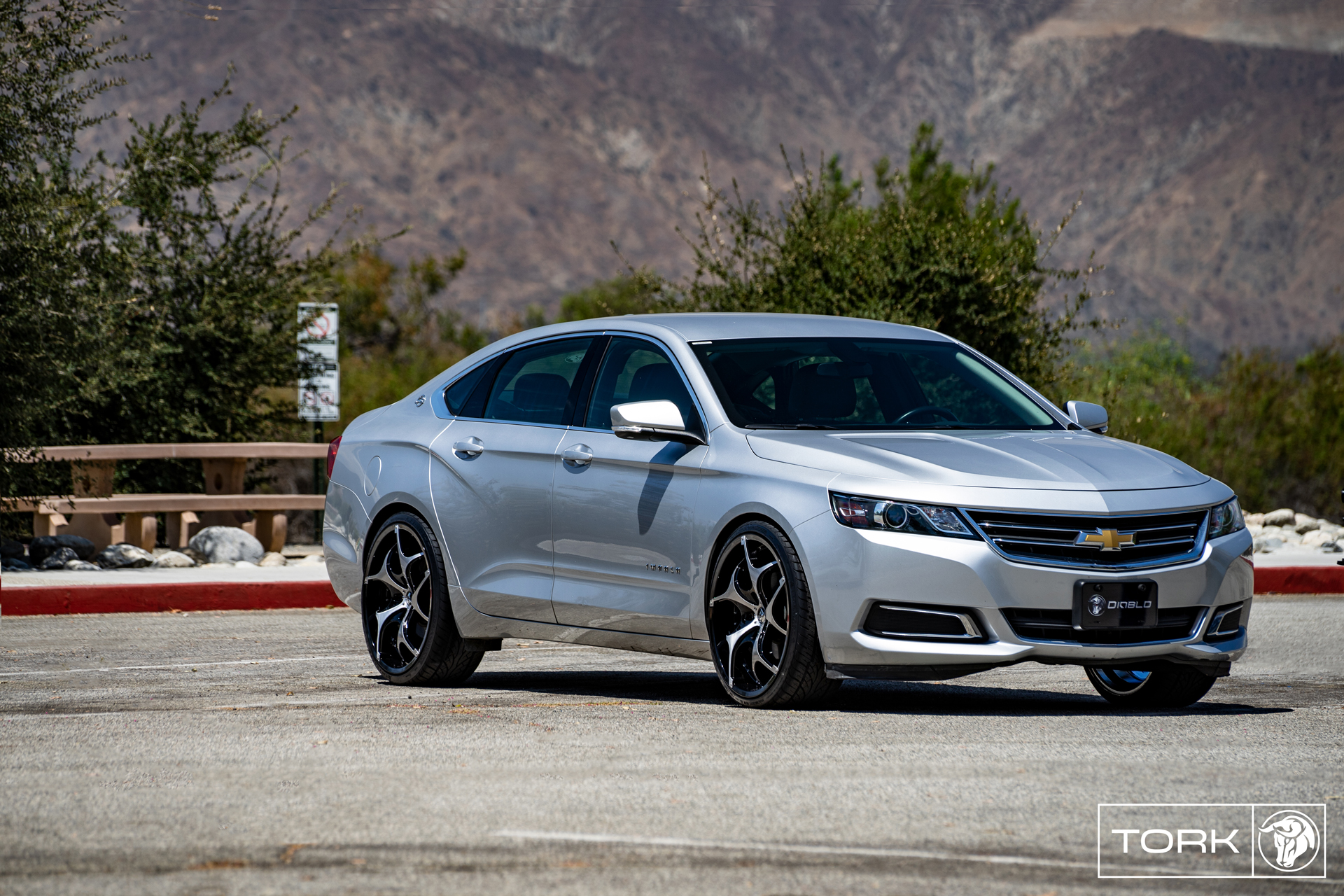 Tork Chevrolet Impala Diablo Wheels