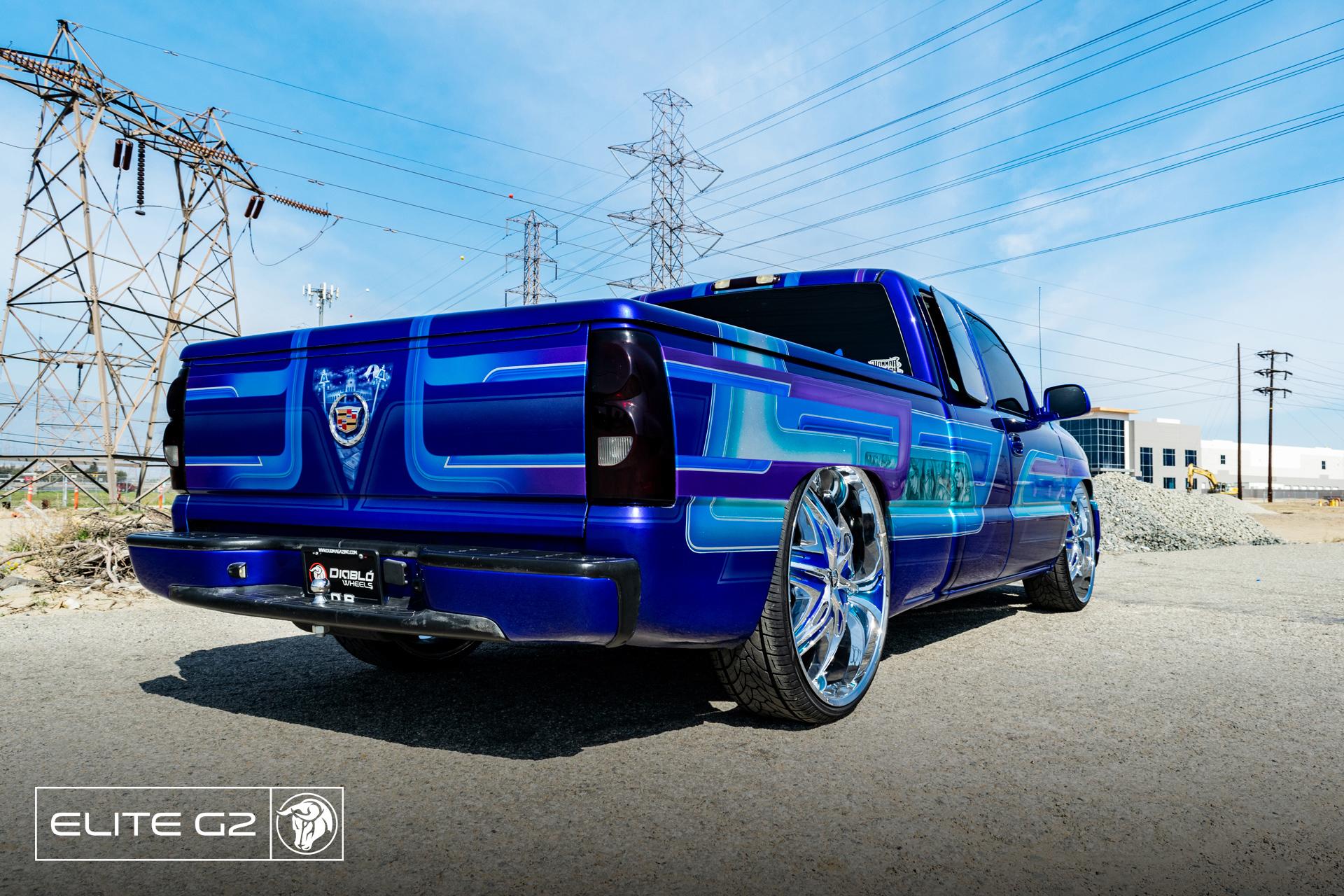 Elite G2 Diablo Wheels Chevrolet Silverado NOK Custom Truck