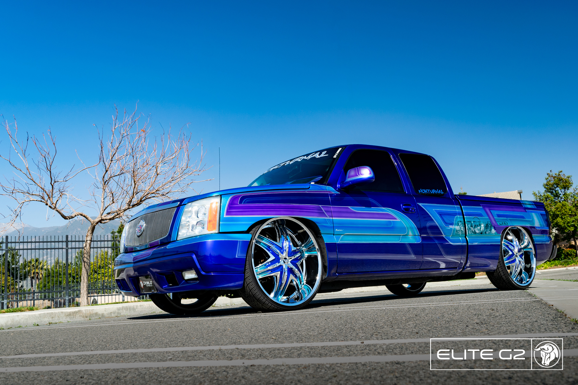 Elite G2 Diablo Wheels Chevrolet Silverado NOK Custom Truck