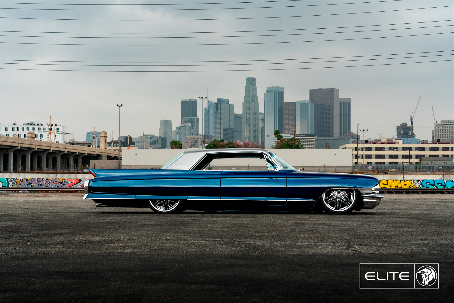 Elite Diablo Wheels 1962 Cadillac Coupe DeVille