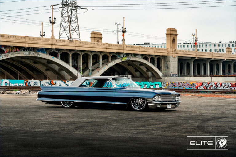 Elite Diablo Wheels 1962 Cadillac Coupe DeVille
