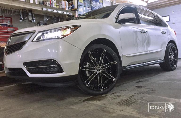 Diablo DNA on an Acura MDX