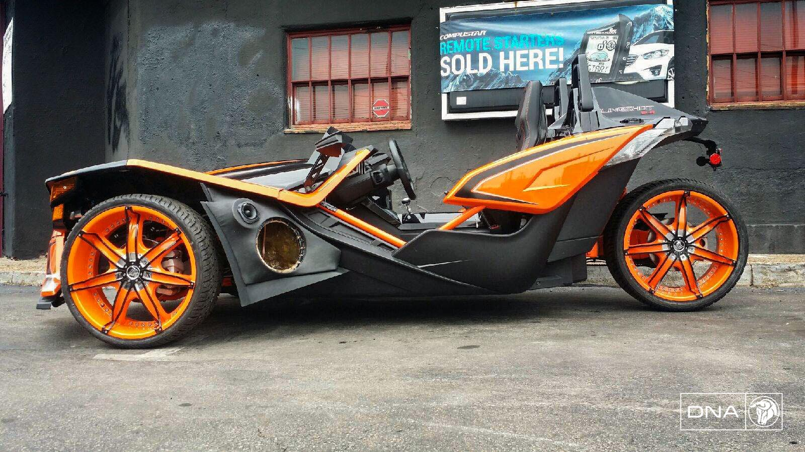 Diablo DNA on a Polaris Slingshot