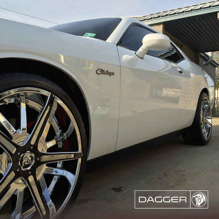 Diablo Dagger on a Dodge Challenger