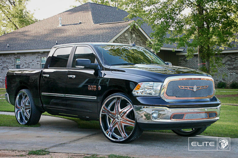Diablo Elite on a Dodge RAM