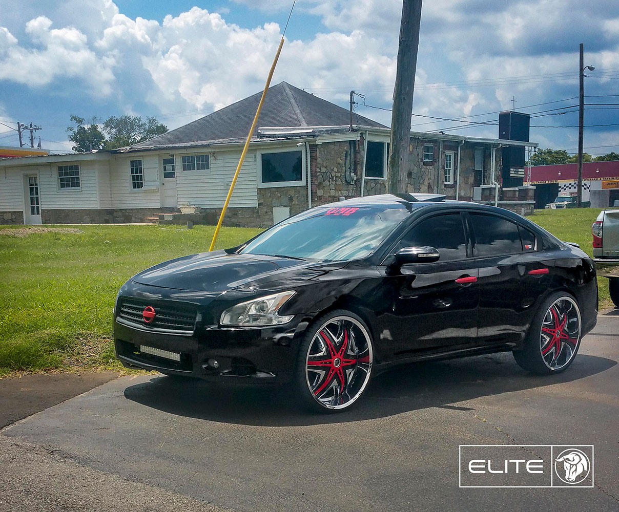 Diablo Elite on a Nissan Maxima