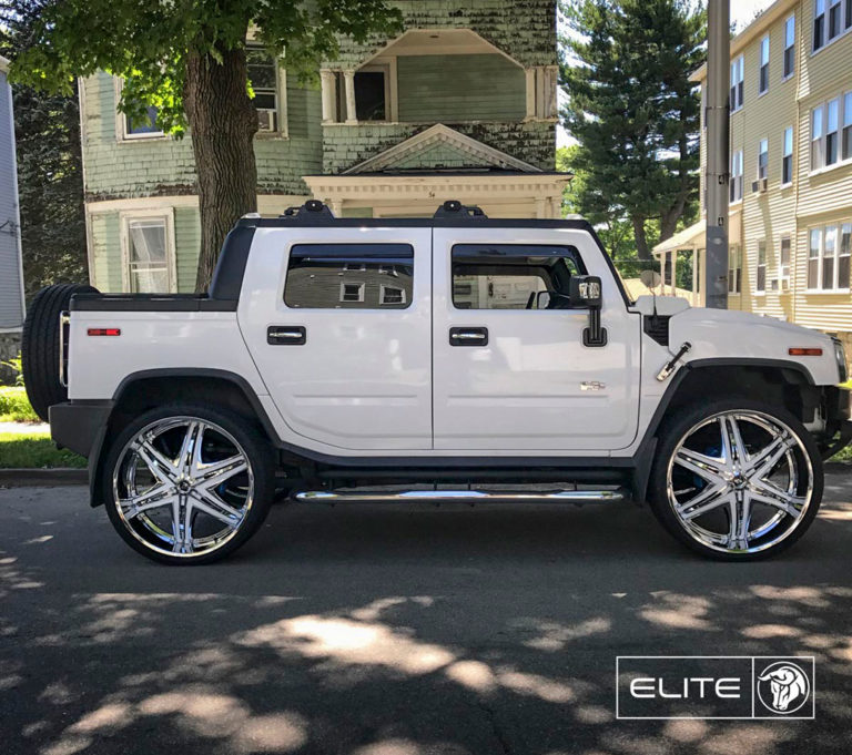 Diablo Elite on a Hummer