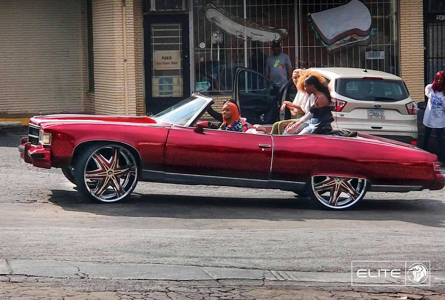 Diablo Elite on a Dodge Pontiac