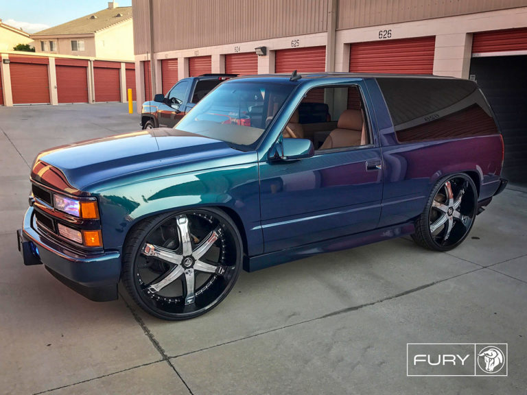 Diablo Fury on a Chevy Tahoe