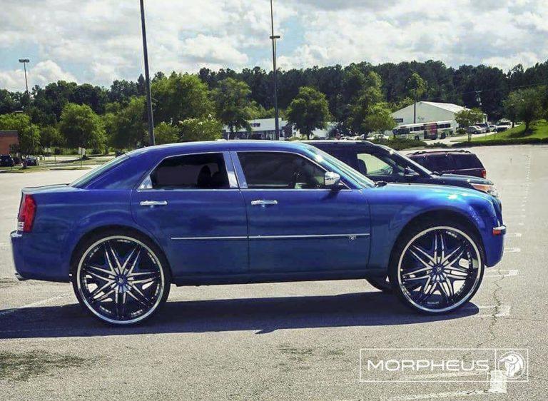 Diablo Morpheus on a Chrysler 300