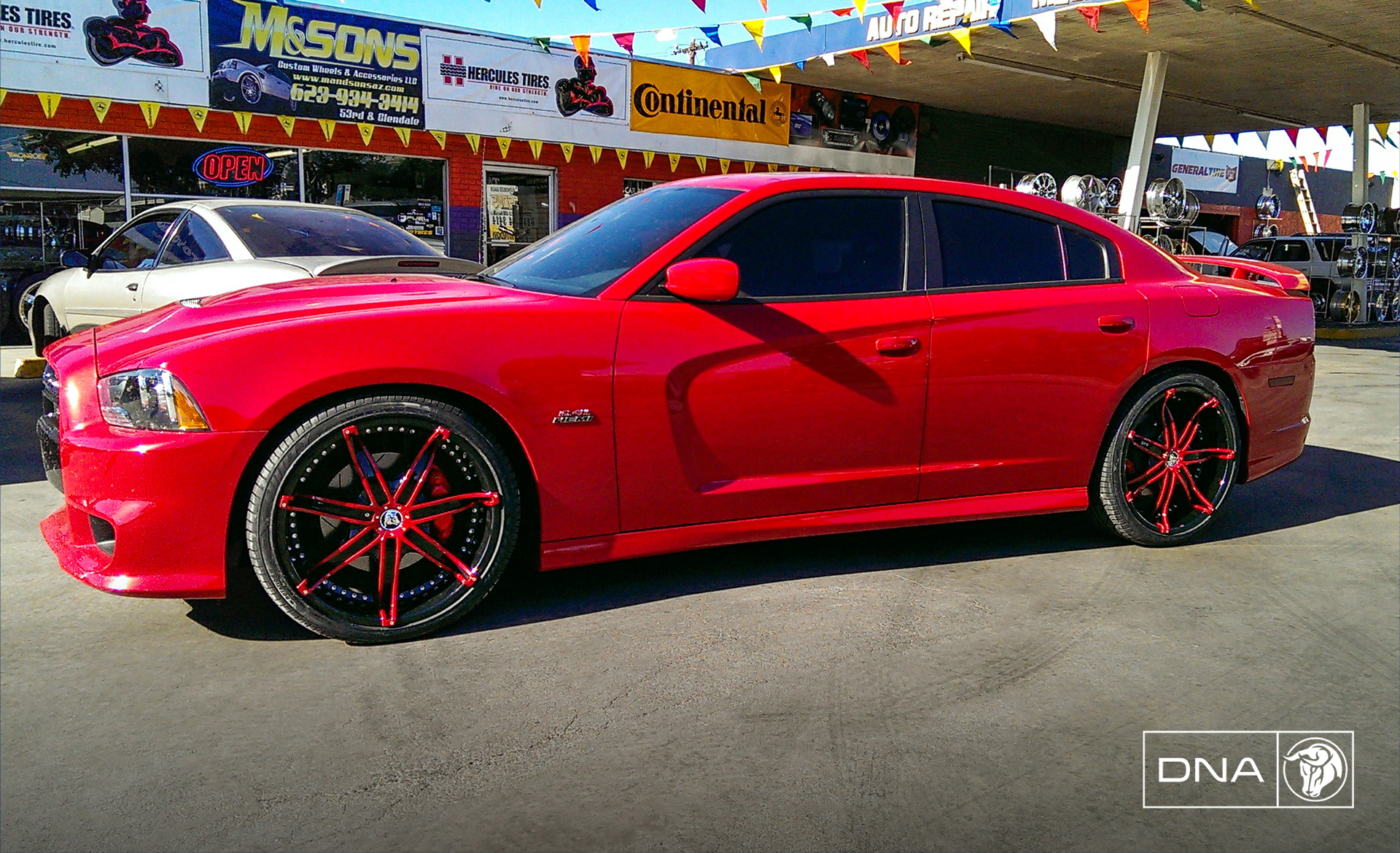 Diablo Wheels - DNA on a Dodge Charger
