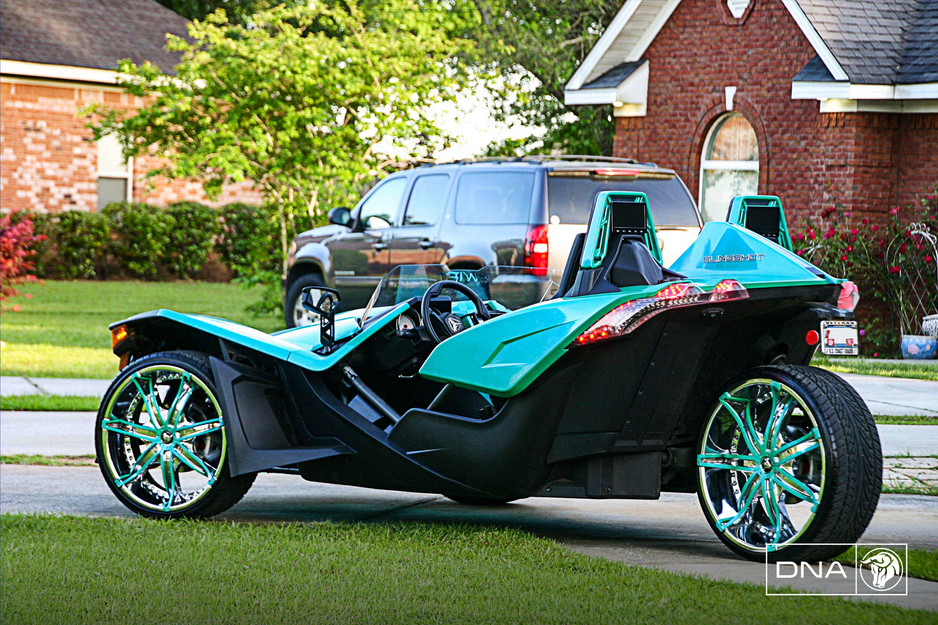 Diablo Wheels - DNA on a Polaris Slingshot