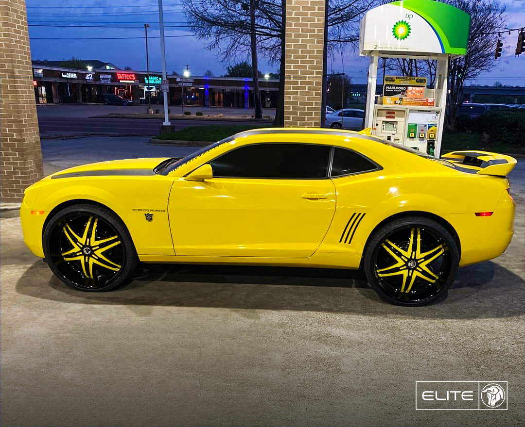 Diablo Wheels - Elite on a Chevrolet Camaro Bumblebee