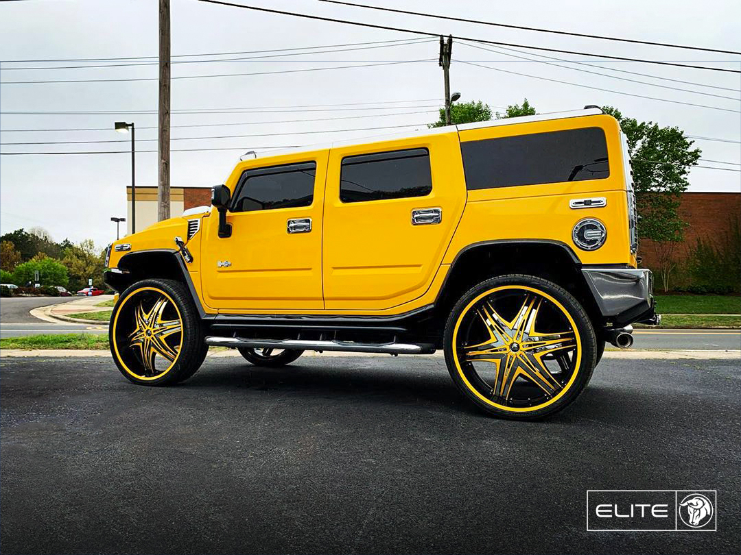 Diablo Wheels - Elite on a Hummer H2