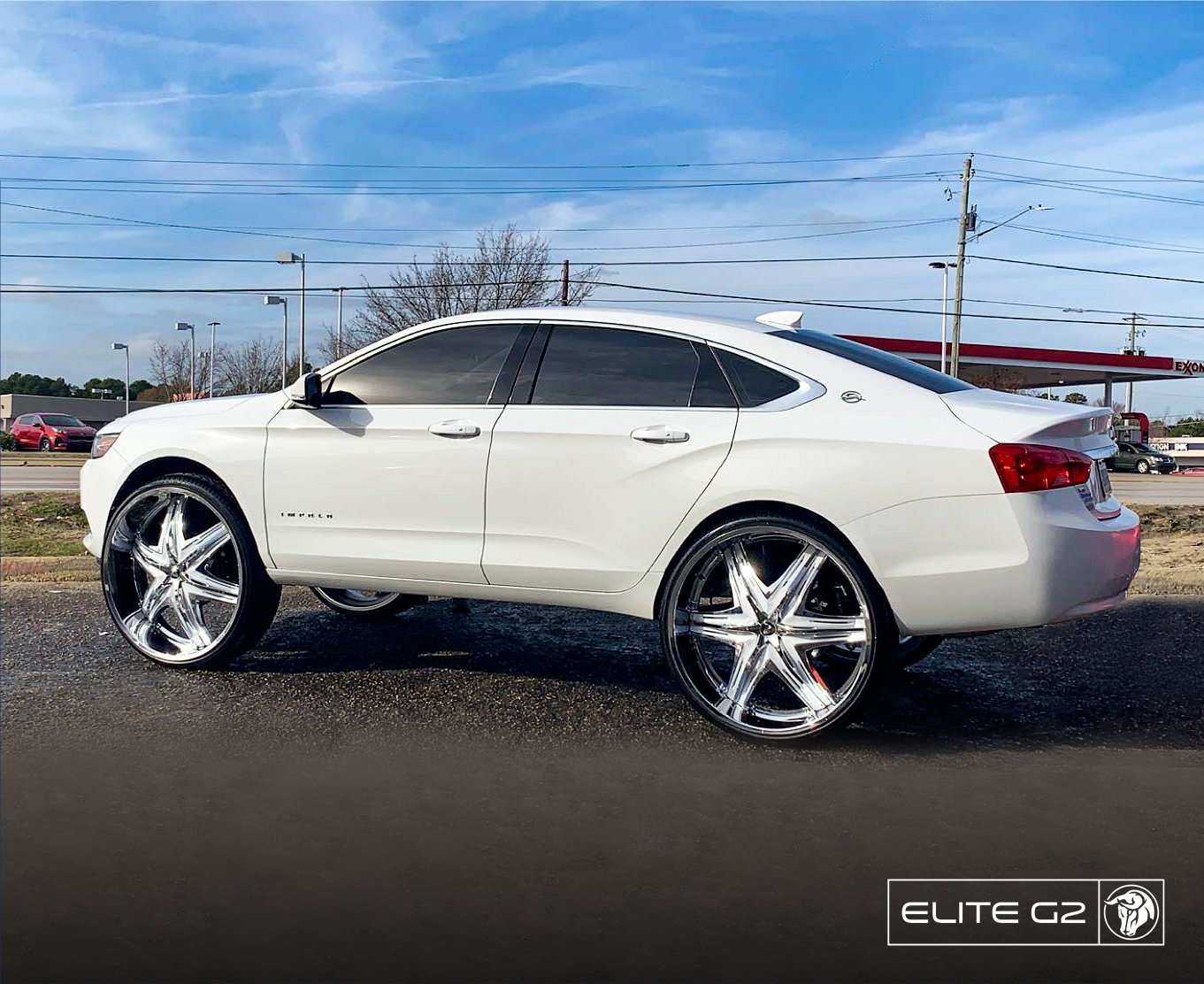 Diablo Wheels - EliteG2 on a Chevrolet Impala 30s