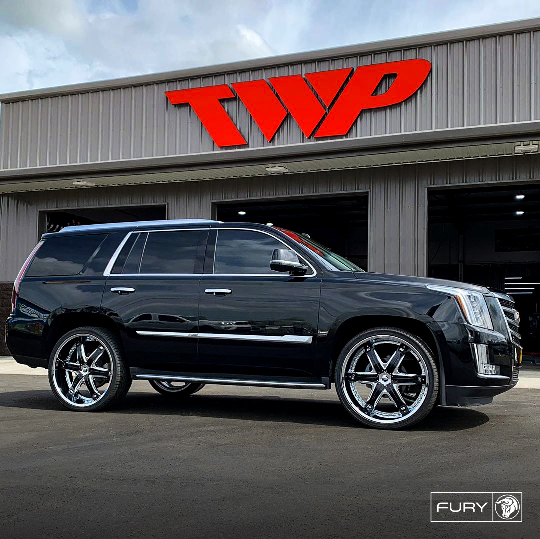 Diablo Wheels - Fury on a Cadillac Escalade