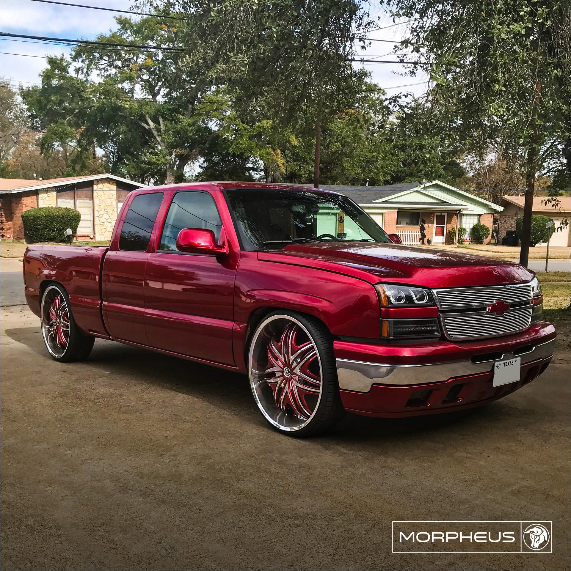 Diablo Wheels - Morpheus on a Chevrolet Silverado 28s