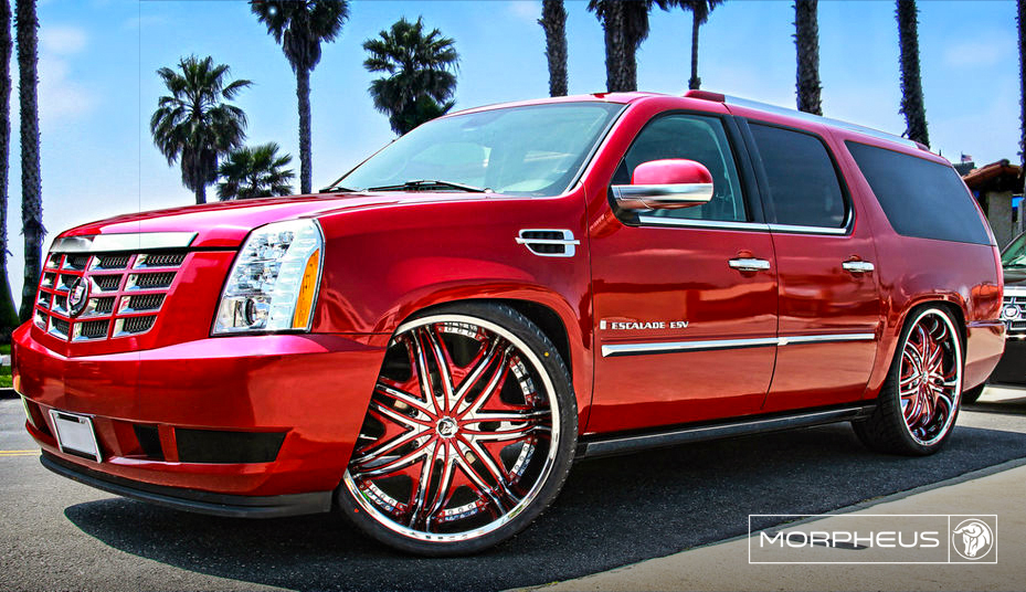 Diablo Wheels - Morpheus on a Cadillac Escalade ESV
