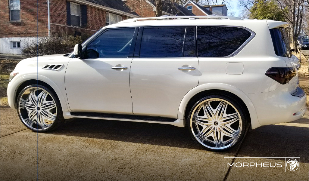 Diablo Wheels - Morpheus on a Infiniti QX56