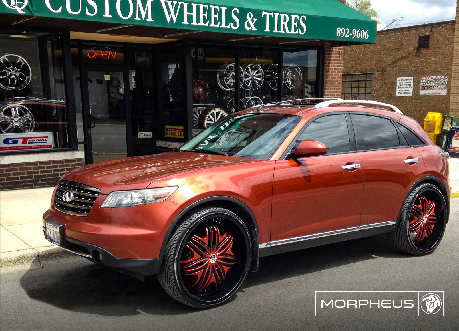 Diablo Wheels - Morpheus on a Infiniti