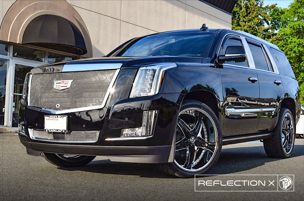 Diablo Wheels - ReflectionX on a Cadillac Escalade
