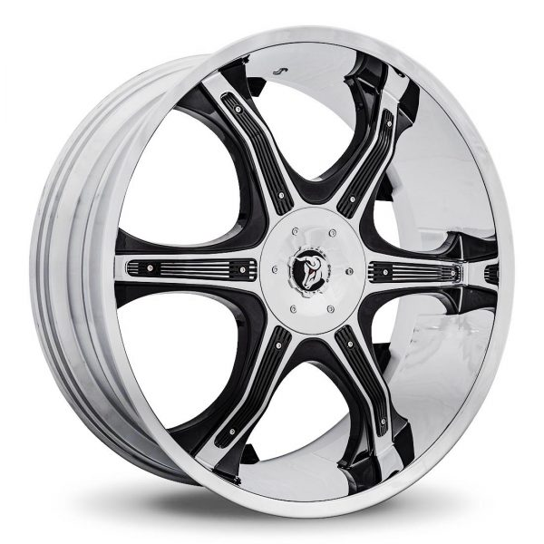 Diablo Grill - Chrome with Black Inserts