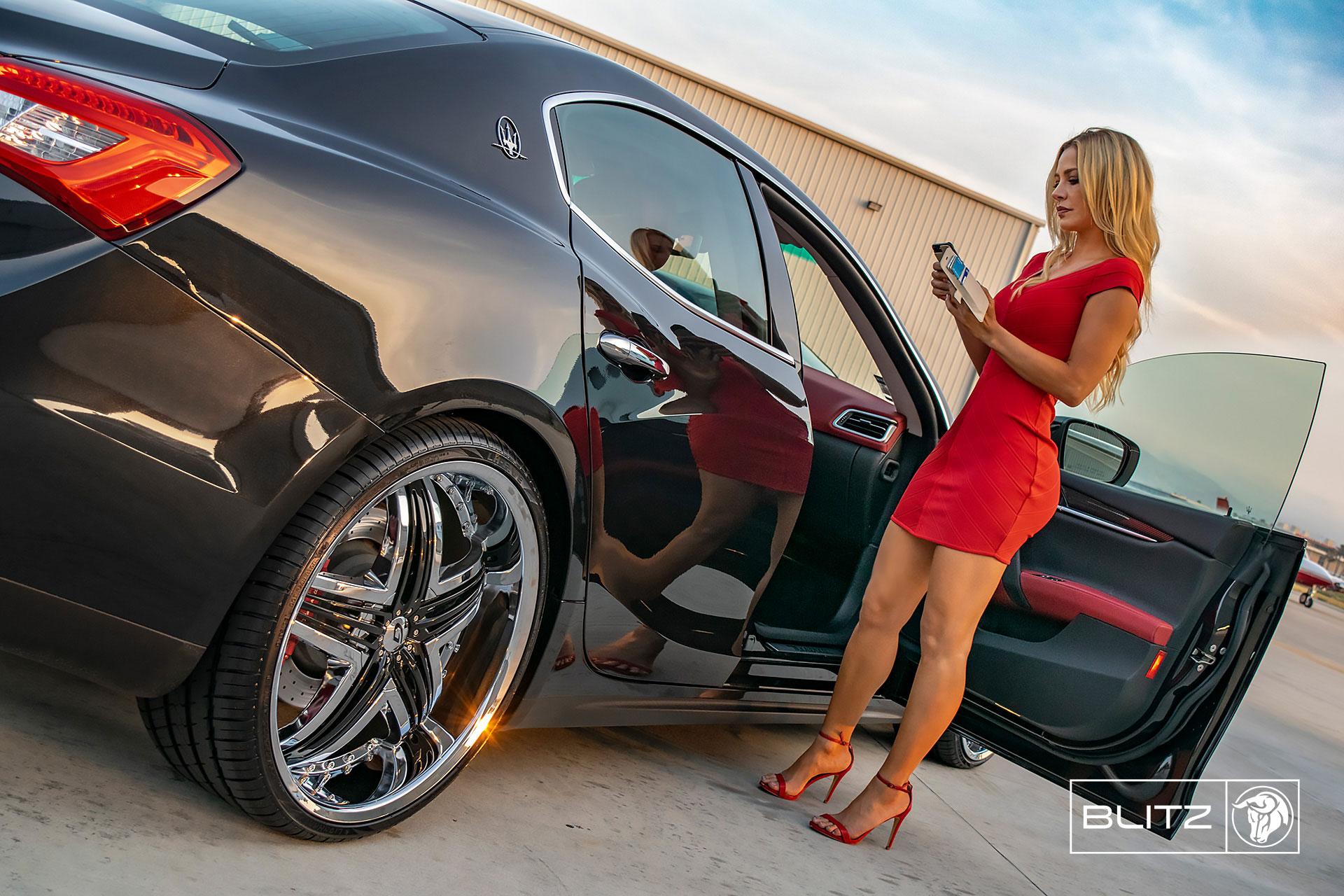 Diablo Blitz - Gianna's Legacy on a Maserati Ghibli - Lina Posada